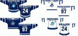 Personalizar Quebec Jr importante Chicoutimi Sagueneens liga de hockey el Hockey Jersey