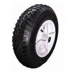 Rueda de goma neumática fuerte del aire del artículo de la rueda 4.00-8 del neumático