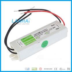 12V 10W 0.83UN CONTROLADOR DE LED Impermeable IP67 Adaptador AC/DC Transformador de alimentación conmutador exterior