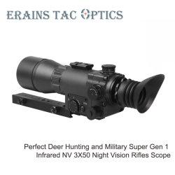 أفضل صيد القد طيارين سوبر جين 1 reticle البصر تحت أشعة تحت الحمراء نطاق بندقية IR Illumination Night Vision
