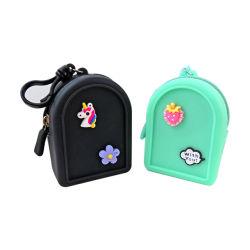 Novo Design Multi-Color Moeda de silicone na bolsa para senhora