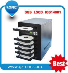 Hoge snelheid 1 Lade met CD Van 7 Dienbladen de Machine van het dvd- Exemplaar
