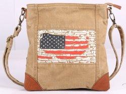تصميم الأزياء قماش مع طباعة على قماش مع العلم الأمريكي (RS-P1606)