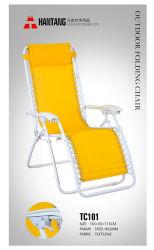 Mode d'été Camping Plage extérieur Chaise longue de pliage