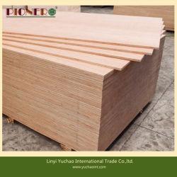 박판으로 만들어진 티크 나무는 합판을 꾸미는 벽을 깐다