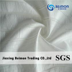 Tissu &Breathable de voile de la bonne qualité 13%Silk 87%Cotton pour la chemise