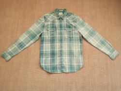 Camice lunghe del manicotto tinte filato tessute 100%Cotton degli uomini