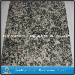Brun naturel poli Peau de Léopard des granites de dalles de plancher en tuiles/mur