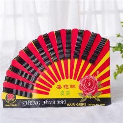 60 قطعة بطاقة شنغوا الأسود معدنية الشعر (JE1043)