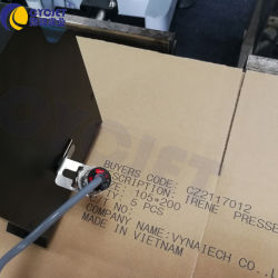 Cycjet C700 El disolvente de gran formato de inyección de tinta de impresora de cartón