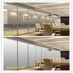 Het transparant-ondoorzichtige Magische Verwisselbare Slimme Intelligente Vloeibare Glas van de Privacy van het Kristal