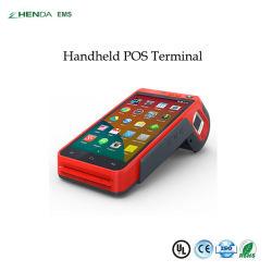 プリンターまたはカードReader/GPS/Barcode/WiFi /EMVとのスマートなPOS