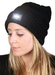 女性の可逆LEDのフラッシュ軽い帽子の帽子