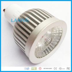 Coupe d'éclairage en aluminium 5W COB E14/E27/GU10/GU5.3/LED MR16 Spotlight
