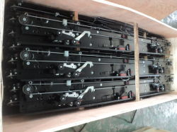 Porte d'atterrissage de l'élévateur Mécanisme de porte de débarquement de levage de l'opérateur