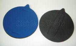 Abrasif doux de 5 pouces main éponge de ponçage Pad