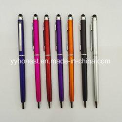 Slim barata toque ligero toque Lápiz Bolígrafo metálico para el iPad