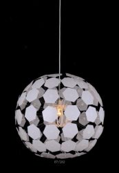 De Lamp van de Tegenhanger van de Glasvezel van het Metaal van Guzhen van Zhongshan E27 60W