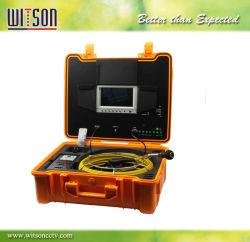 Witson 파이프 배관 검사 카메라, 7'' Monitre, 20m 섬유 유리 케이블, 방수 케이스