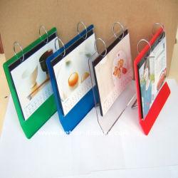Custom акрилового пластика подставка для календаря
