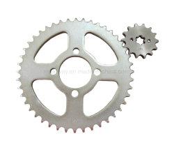 [وّ-8533] [بجج] ملاكم [كت-100] [أ3-] فولاذ [428-44/14ت] يرحل درّاجة ناريّة ضرس العجلة