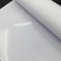 80mic/120gsm, 100mic/140gsm Vinil auto-adesiva PVC branco para a impressão digital
