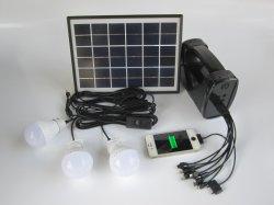 Lampe solaire avec la lumière solaire Kit lampe de lecture Kits solaires 5w panneau solaire avec radio FM de lumière