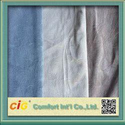 Couleur unie grillée pour canapé en velours et mobilier en tissu