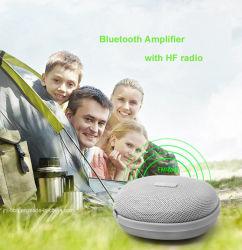 Haut-parleur Bluetooth Antimagne DC avec un chargeur portable Lampe de poche Bluetooth avec amplificateur FM Radio Stero et système audio