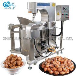 Goede kwaliteit Chocolate Coated Peanut Cashew noten walnoten amandelproductie Machine voor het roosteren van frituren