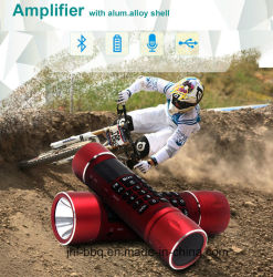 Mini-Größe beweglicher Aufladeeinheits-Taschenlampe Bluetooth Lautsprecher Bluetooth Verstärker
