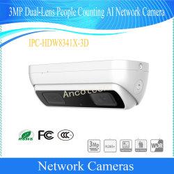 Dahua de comptage de personnes Dual-Lens 3MP caméra de vidéosurveillance réseau IA (CIB-HDW8341X-3D-S2)