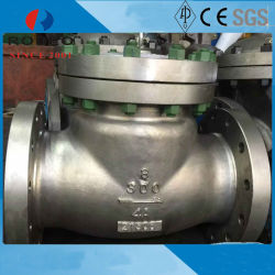 صمام فحص التأرجح الفولاذي الكربوني WCB 150lb Pn25