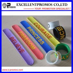 Heißes Sale Silicone Slap Band mit Custom Logo (EP-W58402)