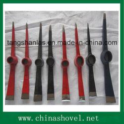 Picareta tipos de ferramentas agrícolas de coleta de aço Ax