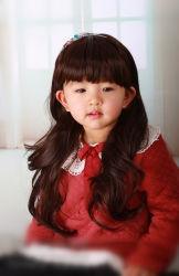 子供の毛 Wig 100% 総合的な毛 Wig Lbh 112