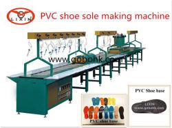 軟質 PVC 溶質射出成形ライン