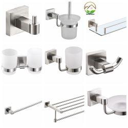 卸し売り高品質ミラーは浴室の一定の浴室のアクセサリの鋼鉄浴室のあたりで終わった