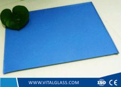 Le lac de verre bleu/gris clair Verre/Verre flotté teinté bronze/Rose/Gris Euro Verre/Verre réfléchissant//vert foncé de la vitre de verre/F en verre vert