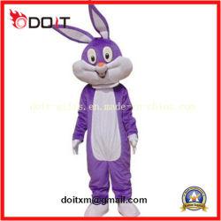 Cartoon Bunny mascotte cosplay costume d'animaux pour la vente