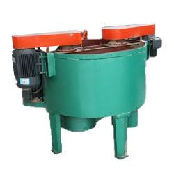 휠 타입 모래 믹서 블레이드 믹서 모래 준비 장비 콘크리트 패들 믹서