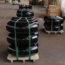 ASTM A234 Wpb Bw el adaptador de tubería de acero al carbono perfecta 304 ANSI B16.9 316 Ensamblada Codo de 90 grados de acero inoxidable (doblar)