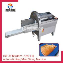 Elevadores eléctricos de presunto bife de frango peixe salsicha cortes de carne cortador com pedal a máquina