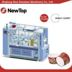 Papier à haute vitesse de la coupe du manchon de gaufrage Machine (DEBAO-1250WT)