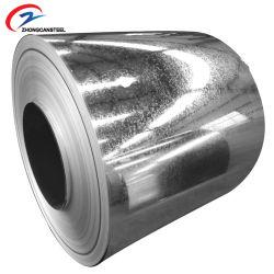 L'acciaio galvanizzato tuffato caldo/galvanizza la bobina d'acciaio del ferro di Steel/Gi/galvanizza la bobina/la lamiera di acciaio/striscia/bobina galvanizzate ricoperte zinco per costruzione