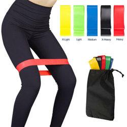 Las bandas de ejercicio ejercicios ejercicios de resistencia elástica estirar las piernas de bucle de la terapia