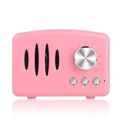 TF 카드를 가진 소형 Retro 무선 액티브한 오디오 Bluetooth 스피커 창조적인 선물 사운드 박스