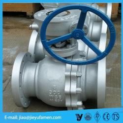 Form-Stahl-Endlosschrauben-Schalthebel-volle Portkugel-Schwimmerventil