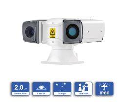 كاميرا CCTV ليزر ليزر تعمل بتقنية PTZ بدقة 2.0MP مع إمكانية التكبير/التصغير بمعدل 2.0MP لشبكة عالية الدقة