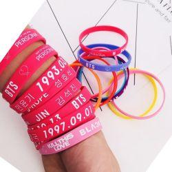 Bracelet en silicone personnalisé pour cadeau promotionnel